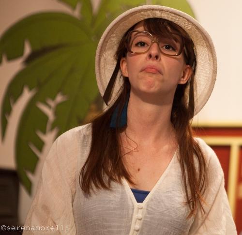 Princess Gwen (Marlene Yarosh) as The Professor, PhD