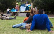 Audience at our Cayuga Park show, August 3, 2014. Photo by Serena Morelli.